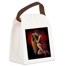 Salsa Heartbeat Canvas Lunch Bag