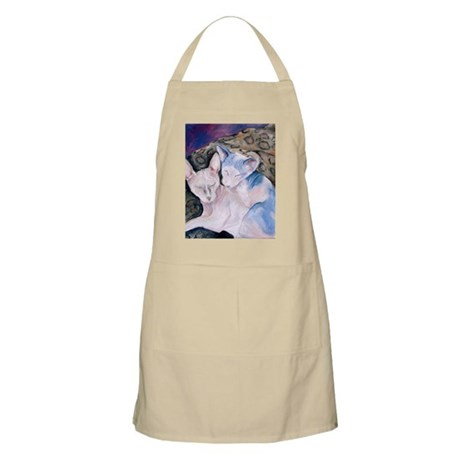 The Hairless couple BBQ Apron