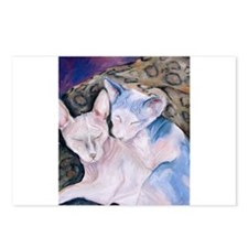 The Hairless couple Postcards (Package of 8)