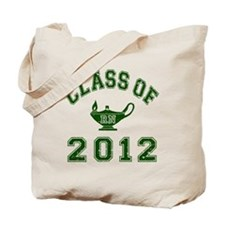 CO2012 RN Green Distressed Tote Bag