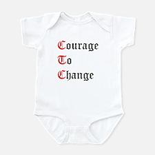 Courage To Change Infant Bodysuit