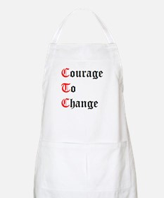 Courage To Change BBQ Apron