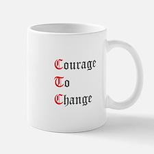 Courage To Change Mug