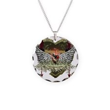 the hunger games heart wings Necklace