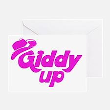 Giddy Up Greeting Card