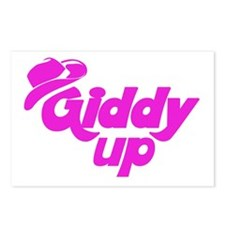 Giddy Up Postcards (Package of 8)