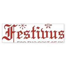 Festivus For The Rest of us Bumper Sticker