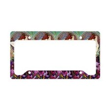 Clutch Mucha Amethyst License Plate Holder
