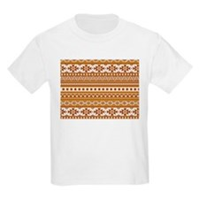 mixed borders golden T-Shirt