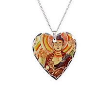 Buddha1SC Necklace Heart Charm