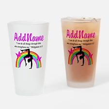 CHRISTIAN GYMNAST Drinking Glass
