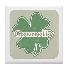 """""""Shamrock - Connolly"""" Tile Coaster"""