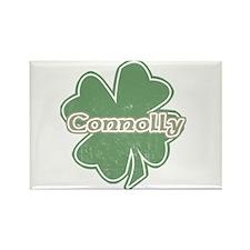 """Shamrock - Connelly"" Rectangle Magnet"