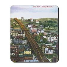 Incline_PrintFramed Mousepad
