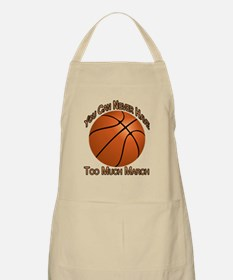 Never Have Too Much March Apron