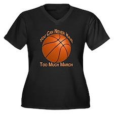 Never Have T Women's Plus Size Dark V-Neck T-Shirt