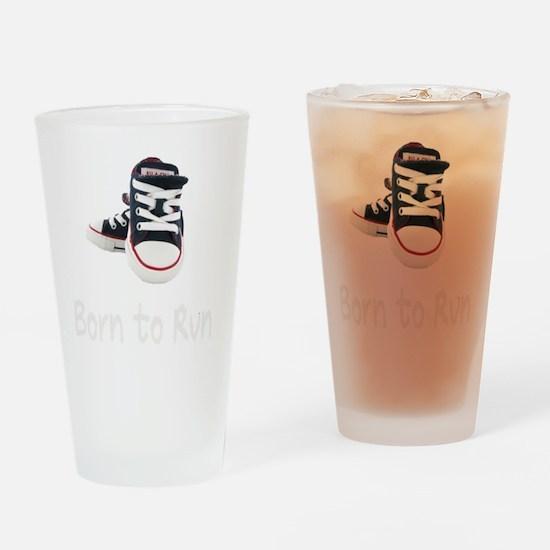 Born To Run_boy_wht Drinking Glass