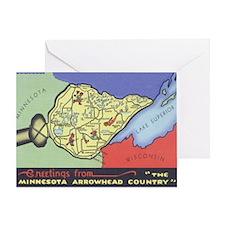 Arrowhead_PrintFramed Greeting Card