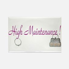 High Maintenance Rectangle Magnet