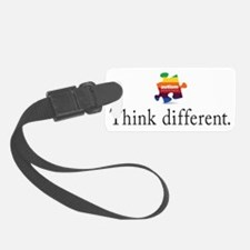 think different Luggage Tag