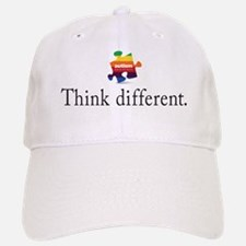 think different Baseball Baseball Cap