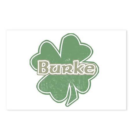 """Shamrock - Burke"" Postcards (Package of 8)"