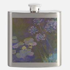 Pillow Monet Lilies  Aga Flask