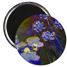 Pillow Monet Lilies  Aga Magnet