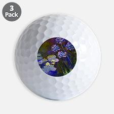 Pillow Monet Lilies  Aga Golf Ball