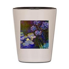 Pillow Monet Lilies  Aga Shot Glass