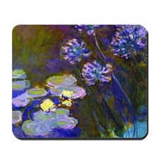 Pillow Monet Lilies  Aga Mousepad