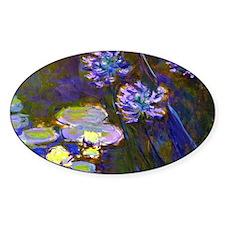 Bag Monet Lilies  Aga Decal