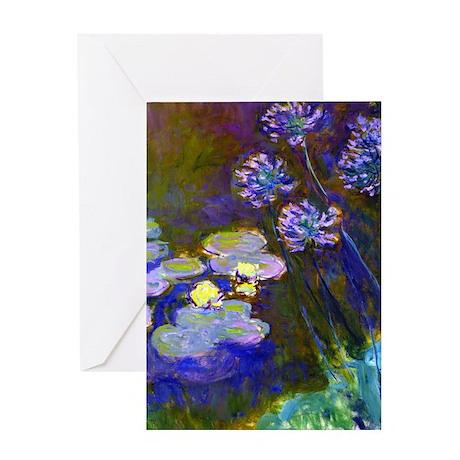 iPadS Monet Lil/Aga Greeting Card
