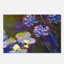 Coin Monet Lil/Aga Postcards (Package of 8)