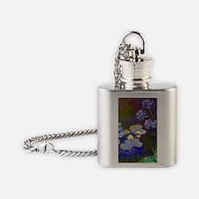 K/N Monet Lil/Aga Flask Necklace