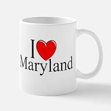 """I Love Maryland"" Mug"