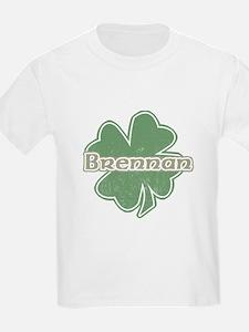 """Shamrock - Brennan"" Kids T-Shirt"