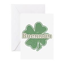 """""""Shamrock - Brennan"""" Greeting Cards (Pk of 10)"""