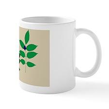 sprigofleavesTanBBerryPcase Mug