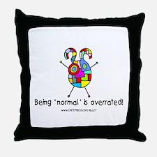 """Normal"" Throw Pillow"