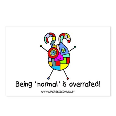 """""""Normal"""" Postcards (Package of 8)"""