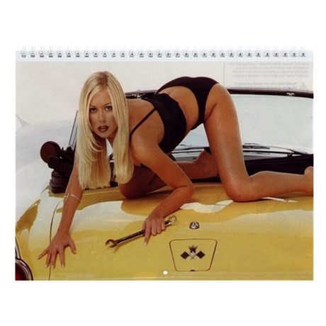 Hot Sexy Woman. Wall Calendar