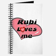 rubi loves me Journal