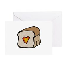 heartbread_CPDark Greeting Card