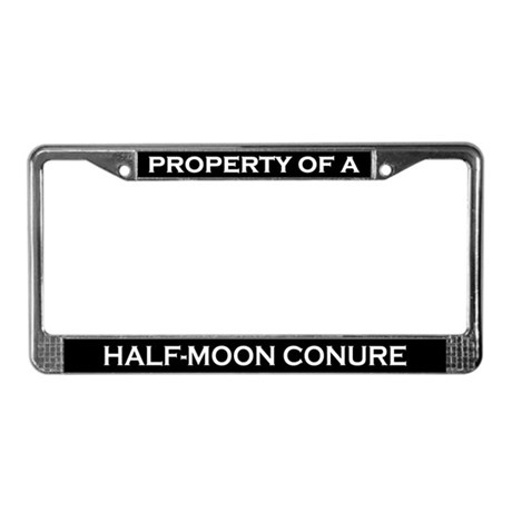 Property of Half-Moon Conure License Frame