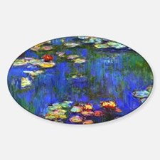 Laptop Monet WL1916 Sticker (Oval)