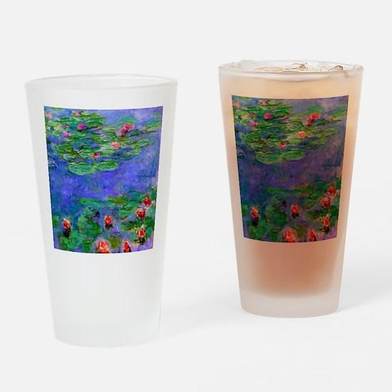 Pillow Monet WLRed Drinking Glass
