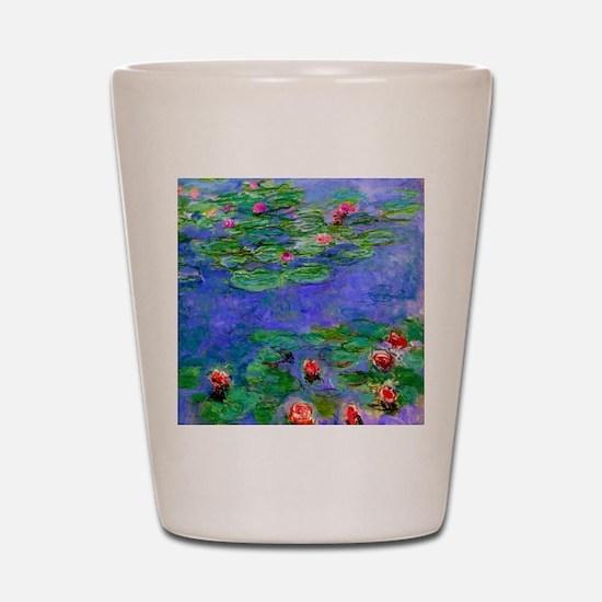 Pillow Monet WLRed Shot Glass