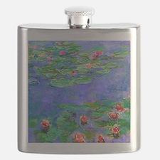 Pillow Monet WLRed Flask