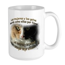 Las mujeres y los gatos Coffee Mug(2-sided)